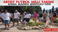 Artist Futbol Milli Takımı, Soma Maden Şehitliği'nde