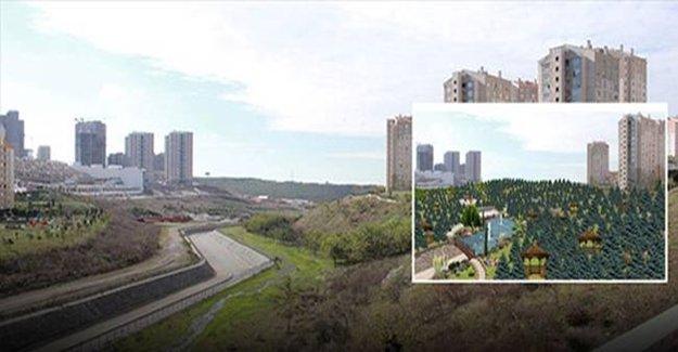 TOKİ İstanbul'da dev park yapıyor