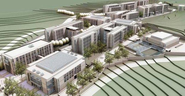 Türk - Alman Üniversitesi Kampüsünü TOKİ inşa edecek