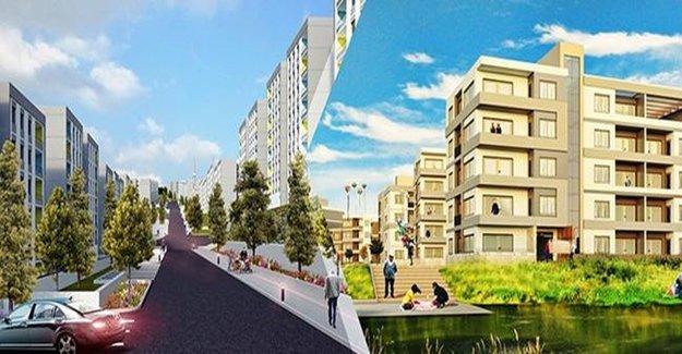 Sosyal konutlar ödüllü projelerle inşa ediliyor
