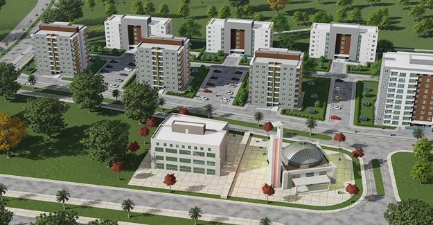 TOKİ Antalya Serik'te yeni bir mahalle inşa ediyor