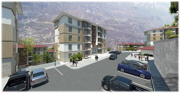 TOKİ, Erzincan Kemaliye'de 146 konut inşa edecek