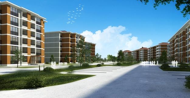 TOKİ İstanbul Silivri'de yeni bir mahalle inşa ediyor