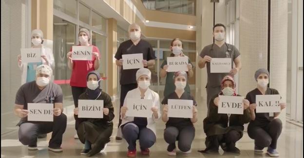 Başkan Dr. Şadi Yazıcı'dan sağlık personeline moral desteği