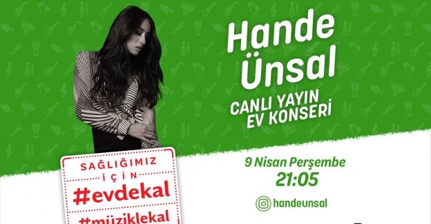 Hande Ünsal ev konseriyle 'İyi Misin?' diyecek