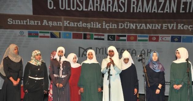 6. Uluslararası Ramazan Etkinlikleri Keçiören'de Devam Ediyor