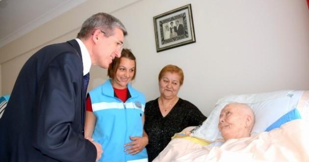 9 Bin 721 Hastaya Evde Bakım Hizmeti