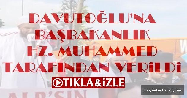 Davutoğlu'na Başbakanlık Resulullah Tarafından Verildi İzle
