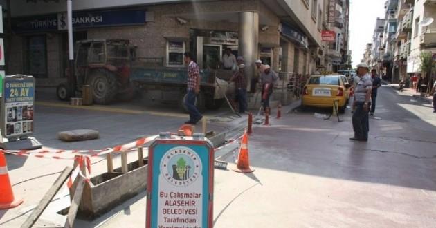 Alaşehir'de Çalışmalar Tüm Hızıyla Sürüyor