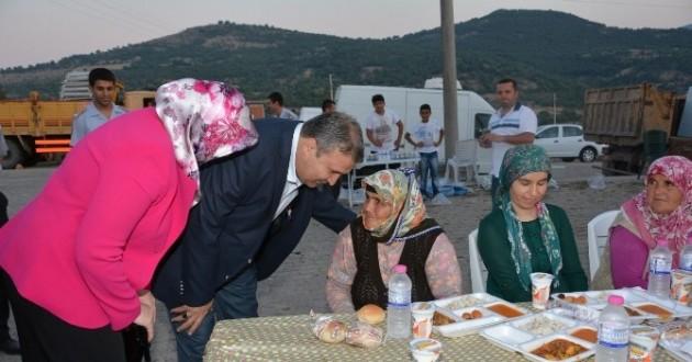 Başkan Çerçi İftarda Vatandaşlarla Buluştu