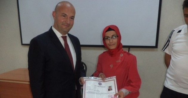 Bor'da Başarılı Öğretmenlere Ödül Verildi