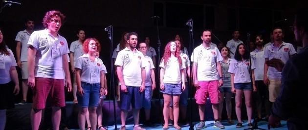 Çanakkale'de Boğaziçi Caz Korosu'ndan Muhteşem Konser