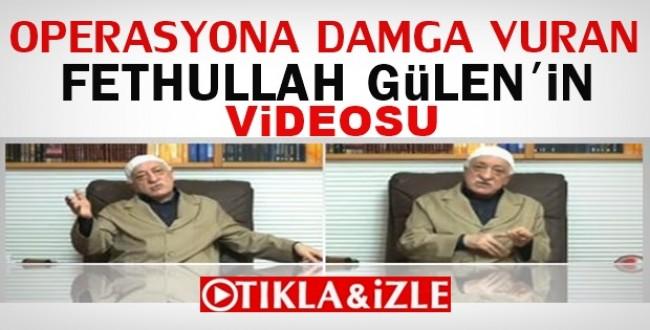 Cemaat Operasyonuna Fethullah Gülen'in Bu Videosu Damga Vurdu İZLE