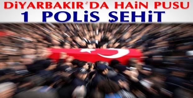 Diyarbakır'da Hain Pusu: 1 şehit