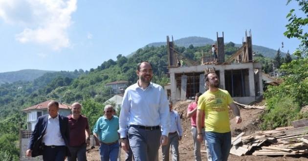 Doğantepe Mahallesi Semt Konağı İnşaatı Devam Ediyor