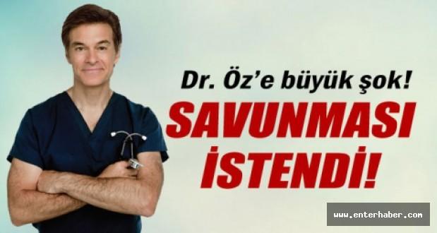Doktor Öz Hakkında Görevden Uzaklaştırma Talebi