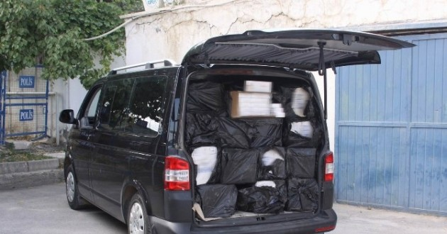 Erzincan'da 29 Bin 790 Paket Kaçak Sigara Ele Geçirildi