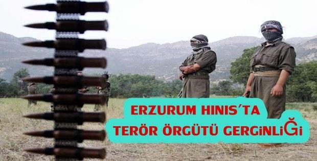 Erzurum Hınıs'ta Terör Örgütü Gerginliği