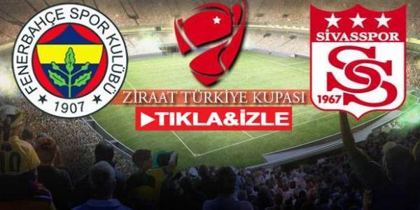 Fenerbahçe 2-0 Sivasspor Geniş Özet İzle