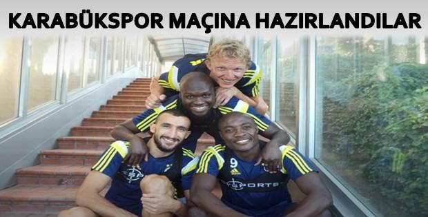 Fenerbahçe Karabükspor Maçının Hazırlıklarını Sürdürdü