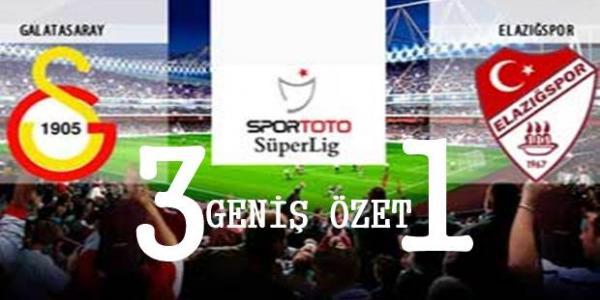 Galatasaray Elazığspor Maçı Geniş Özeti
