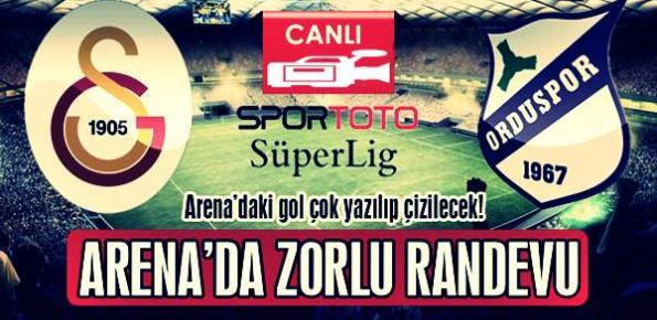 Galatasaray 4-2 Orduspor Geniş Özeti