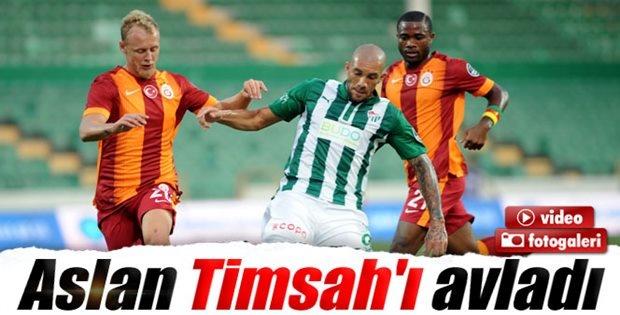 Galatasaray Bursaspor'u 2-0 mağlup etti İzle