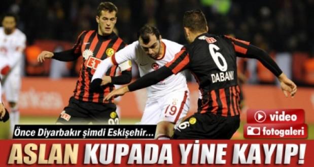 Galatasaray, Eskişehirspora 1-0 mağlup oldu