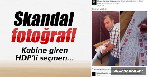 HDP'ye topluca oy atan sandık başkanı İzle