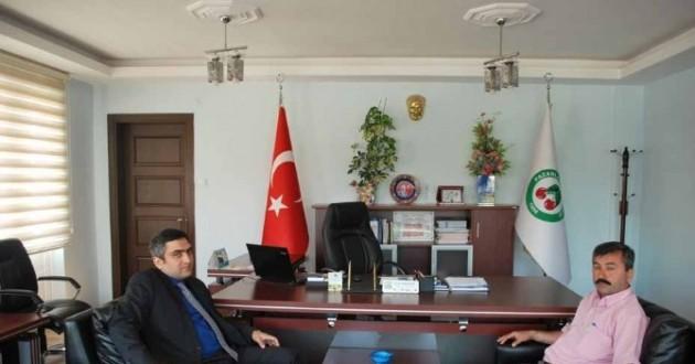 Kaymakam Karaaslan'dan Başkan Erdoğan'a Ziyaret