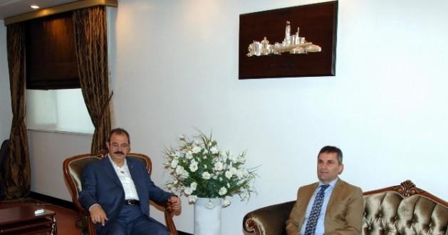 Kaymakam Selami Aydın'dan GSO'ya Veda Ziyareti