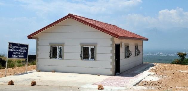Kepez'de 2'nci Taziye Evi Çankaya Mahallesine Yapıldı
