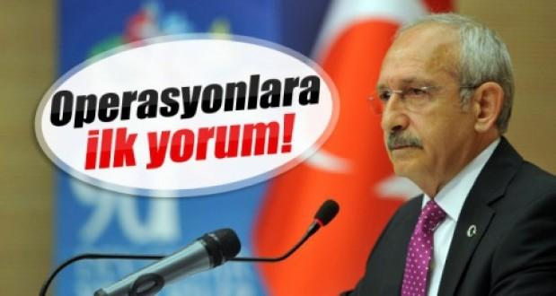 Kılıçdaroğlu: Yaşanan bir darbe sürecidir