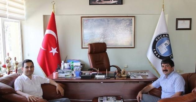 Kilis Vali Yardımcılığı'na Atanan Sülün'den Veda Ziyareti