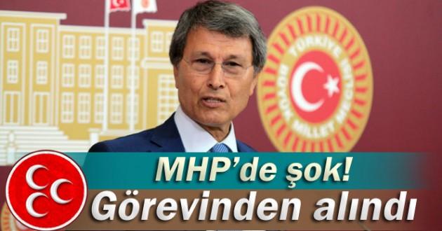 MHPde Şok Yusuf Halaçoğlu Görevinden Alındı