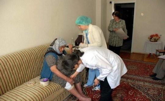 Niğde'de 3 Bin 790 Hastaya Evde Bakım Hizmeti Yapıldı
