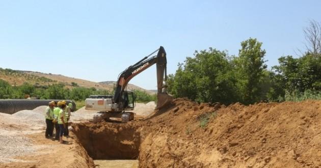 Nizip Çayı'nda Çalışmalar Son Sürat