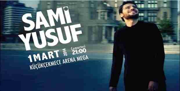 Sami Yusuf  Konser İçin İstanbul'a Geliyor