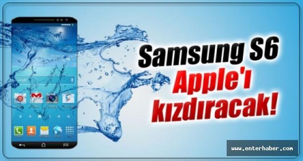 Samsung Galaxy S6 Apple'ı Kızdıracak
