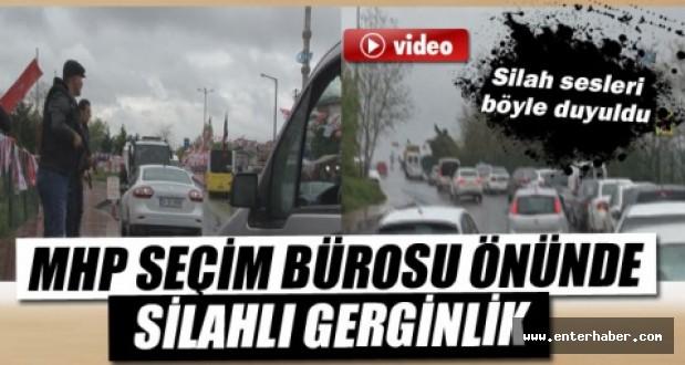 MHP seçim bürosuna silahlı saldırı İzle