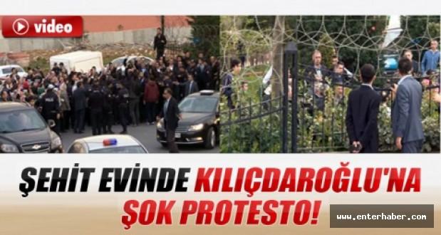 Şehit Evinde Kılıçdaroğluna Protesto İzle