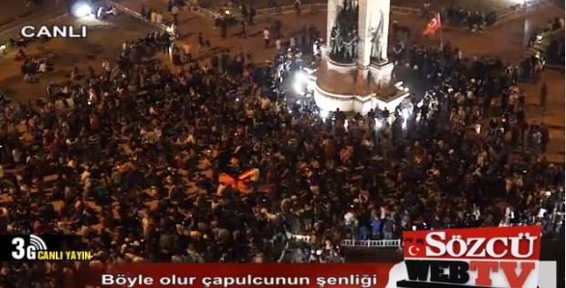Sözcü Web Tv Taksim Gezi Parkı Canlı Yayın İzle