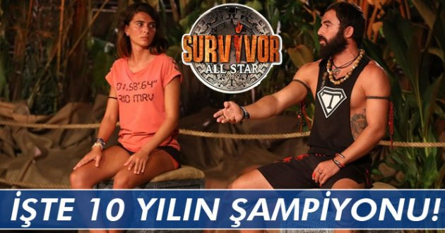Survivor All Star şampiyonu Turabi oldu
