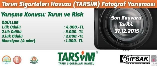 """Tarsim'den """"Tarım Ve Risk"""" Konulu Fotoğraf Yarışması"""