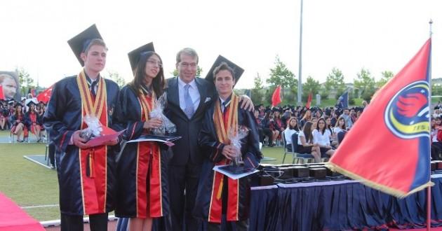 TED Ankara Koleji 2015 Mezunlarını Uğurladı