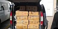 16 Bin 500 Paket Kaçak Sigara Ele Geçirildi
