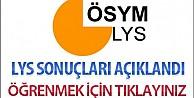 2015 LYS yerleştirme sonuçları açıklandı Tıkla Öğren