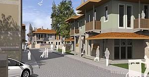 Bursa İznik'e yerel mimaride 165 konut