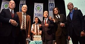 Erzurum'da 579 aile konut sahibi oldu