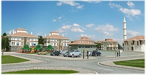 İncesu'ya yatay mimari konseptinde 843 konut